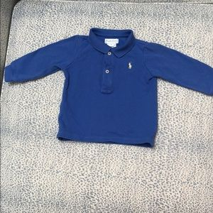 Ralph Lauren periwinkle blue polo- great condition